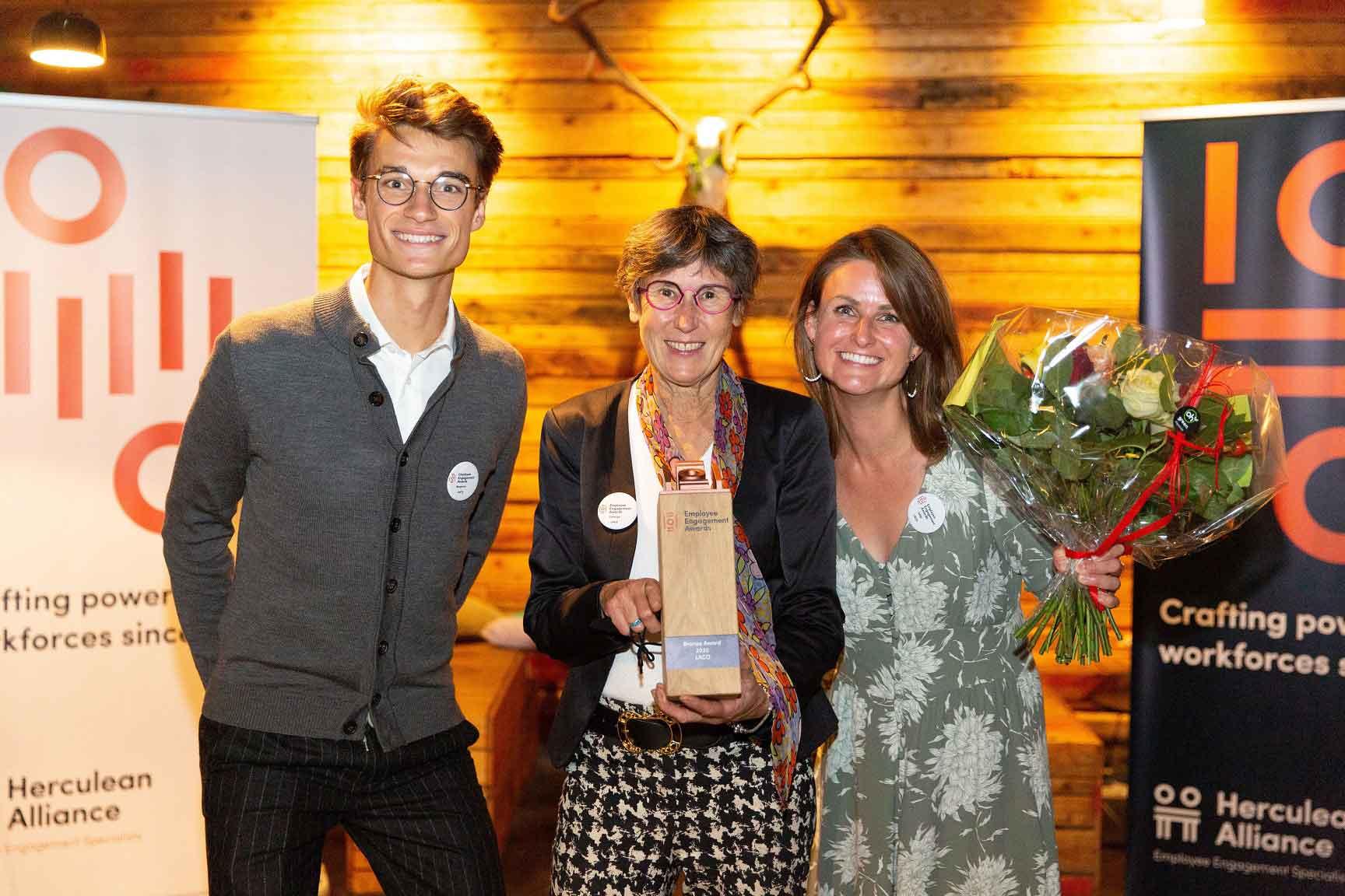 LACO Bronze Winner at Employee Engagement Awards of Herculean Alliance