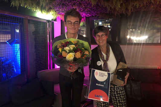 Employee Engagement Awards - LACO as Bronze winner